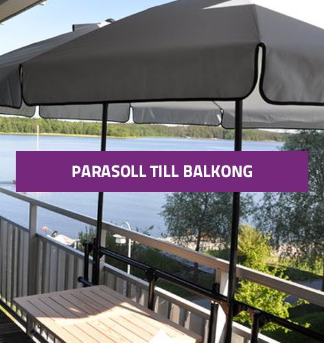 parasoll till balkong